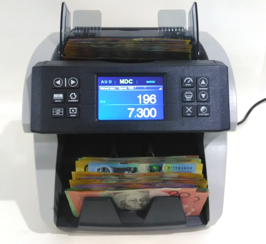 "AUS1000 ""BOSS"" COMMERCIAL NOTE COUNTER"