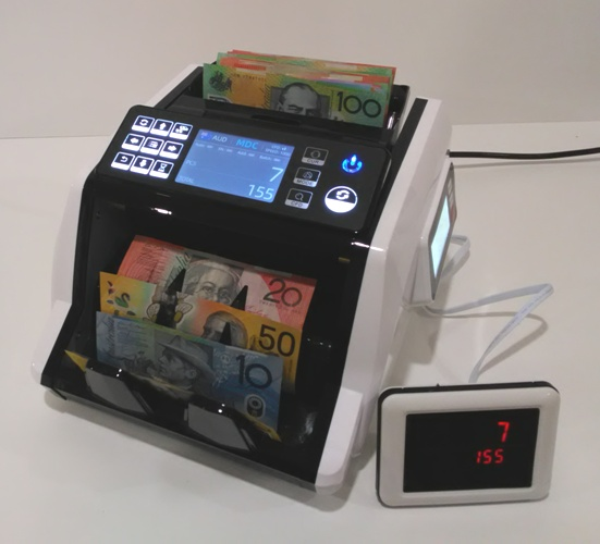 AUS1100 COMPACT COMMERCIAL NOTE COUNTER-- HOT SELLER!