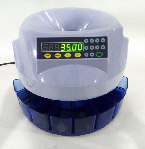AUS350 COIN COUNTER/SORTER EXTRA QUICK 330 PER MIN !!