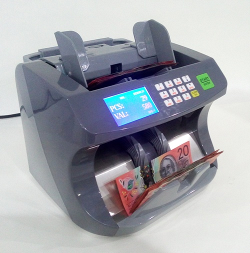 AUS5200 TOP LOADING H/DUTY NOTE COUNTER