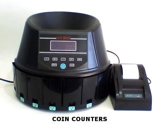 AUS960A COIN COUNTER/SORTER with Printer